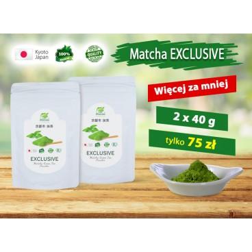 EXCLUSIVE Matcha Green Tea  - 2 x40g