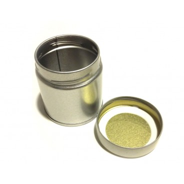 Puszka do przechowywania Matcha - srebrna