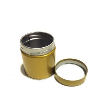 Puszka do przechowywania Matcha - złota